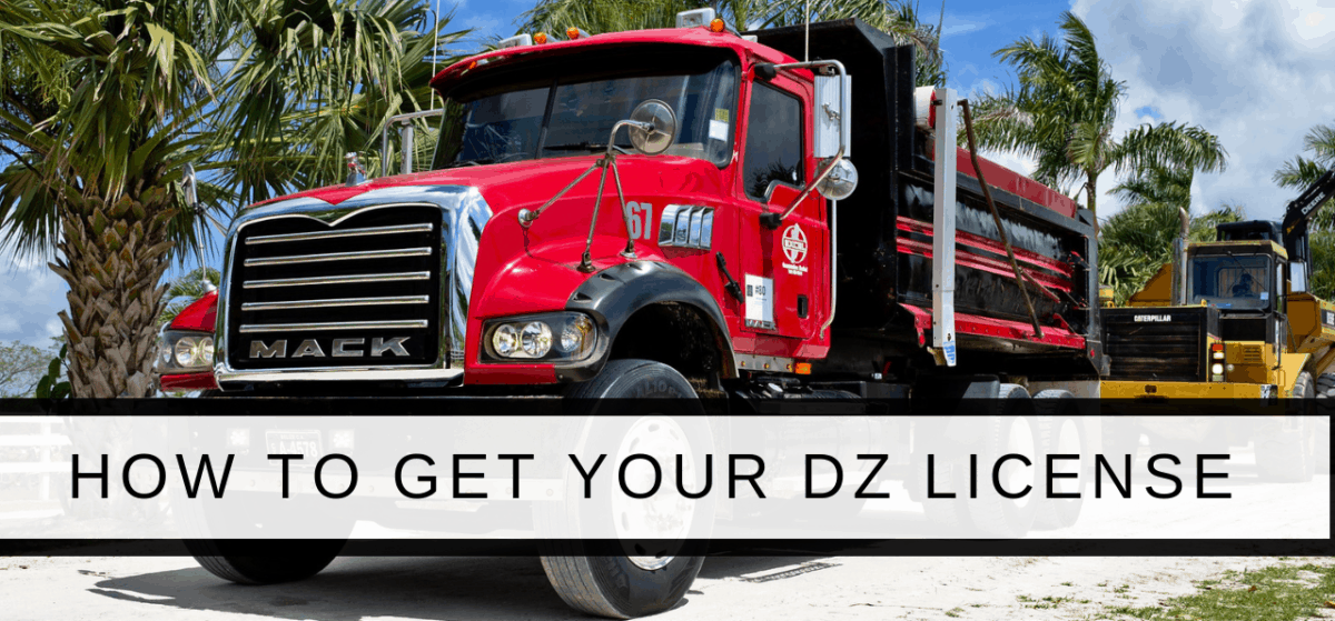 dz license ontario truck