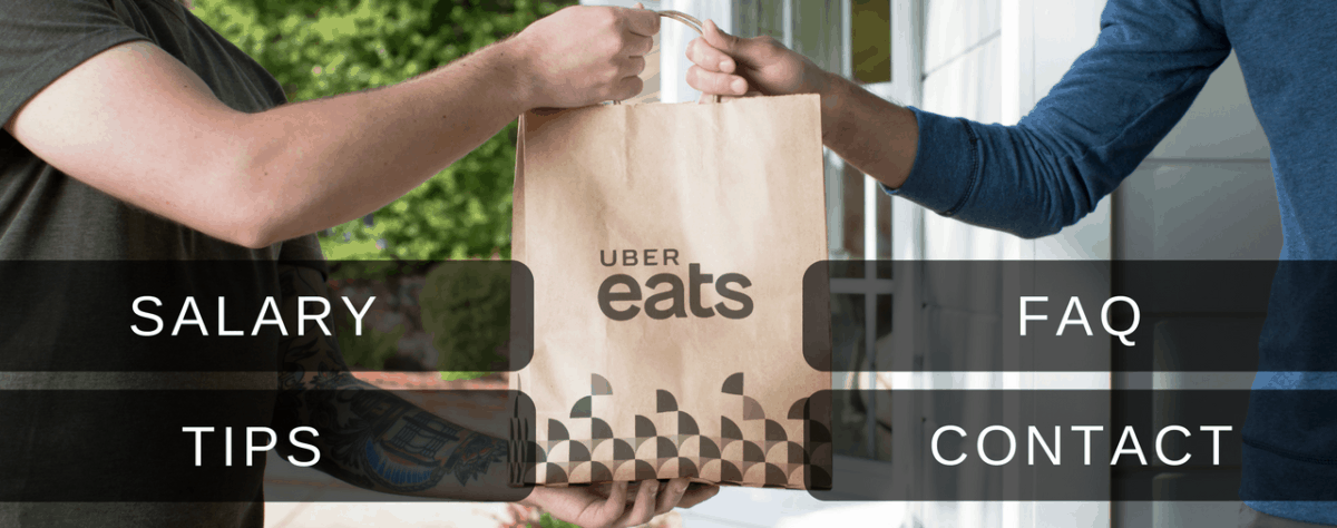 can you tip uber eats drivers in cash
