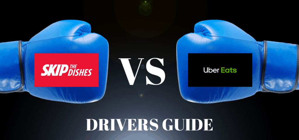 UberEATS vs Skip The Dishes: What is the difference for Drivers?