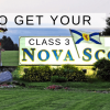 class-3-license-nova-scotia-welcome-sign