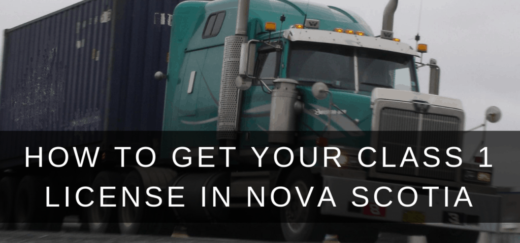 class-1-license-nova-scotia-truck