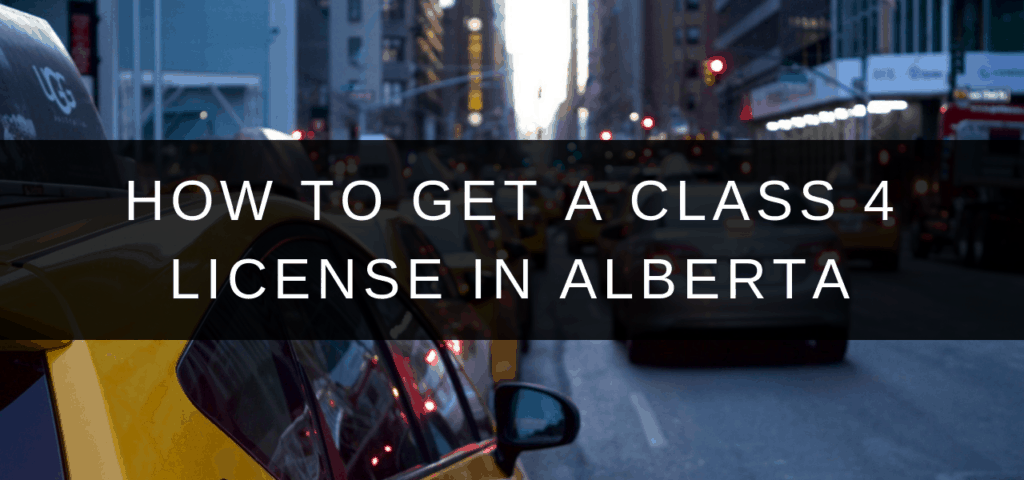 car downtown taxi city (class 4 license alberta uber)