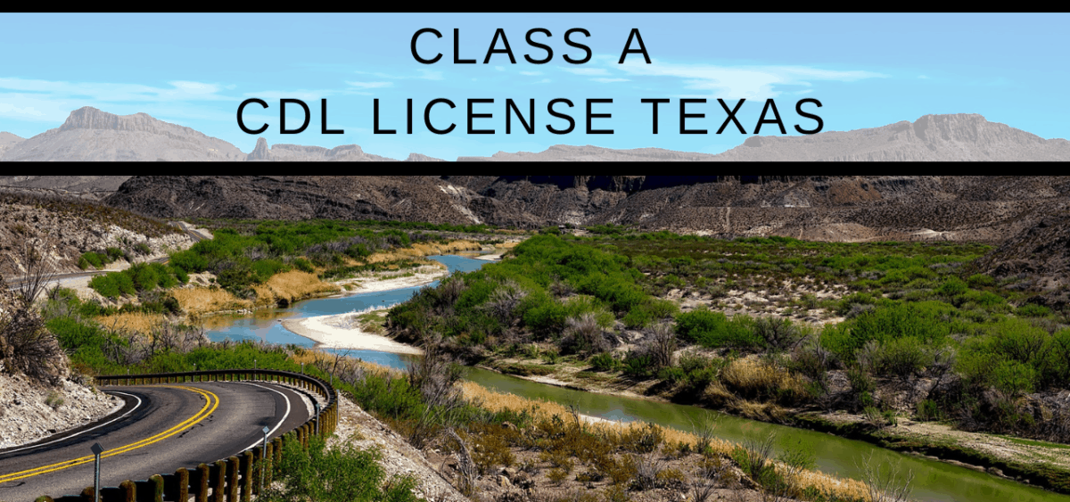 class a cdl license - texas