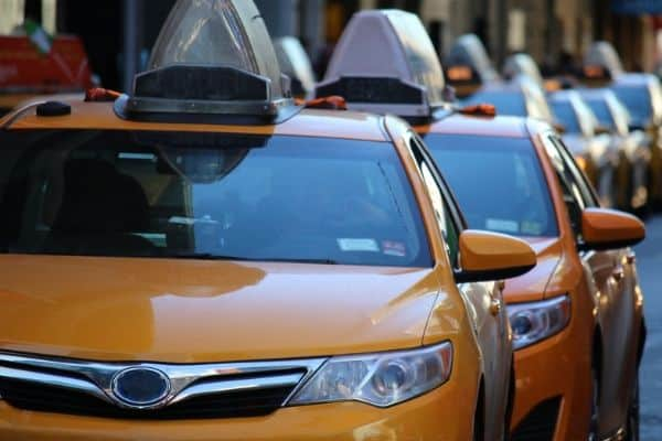 Taxi drivers are required to have a class 4 license in BC