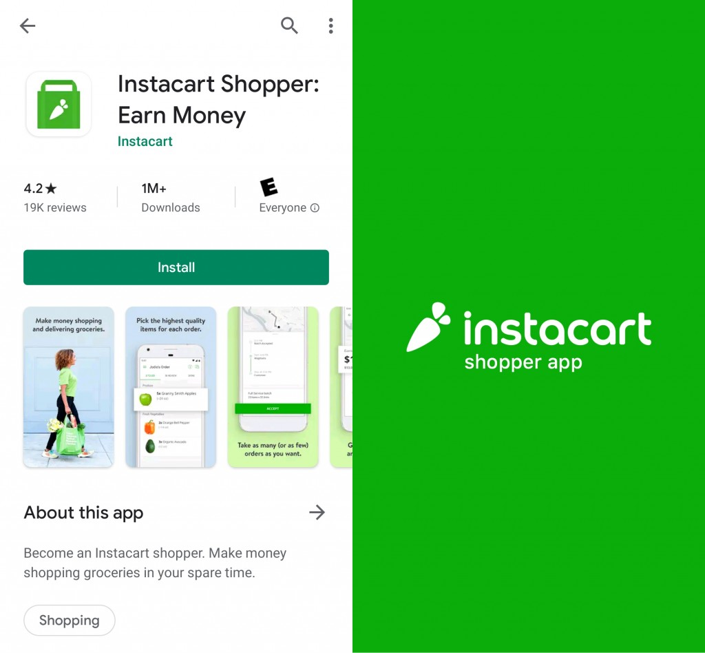 Downloading and installing the Instacart Shopper app