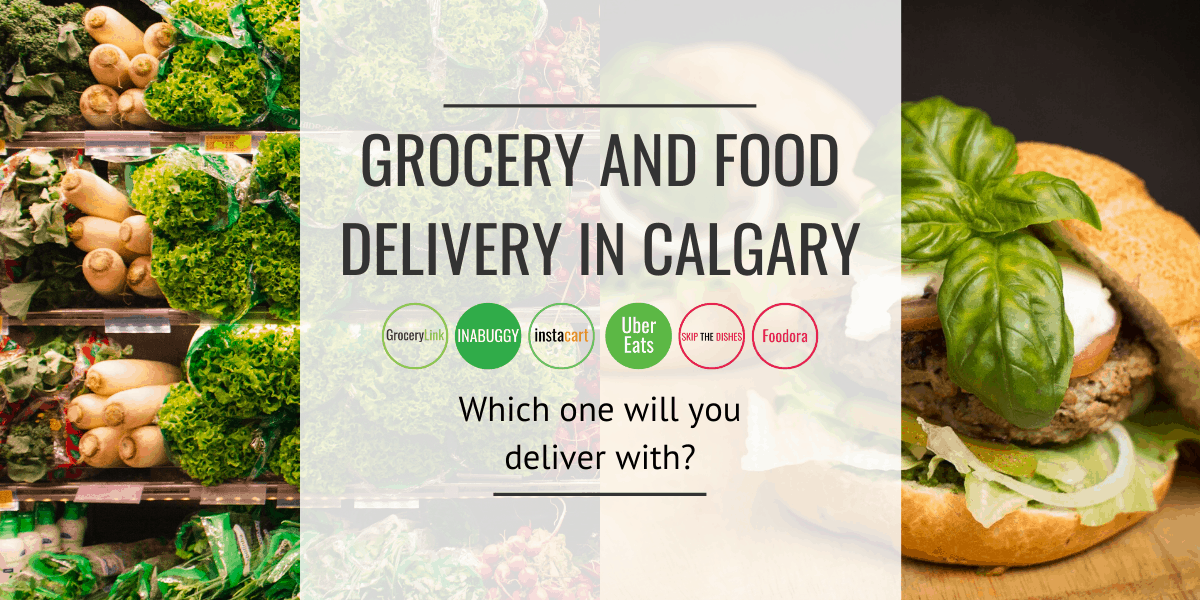 Grocery and Food Delivery Jobs for Drivers in Calgary